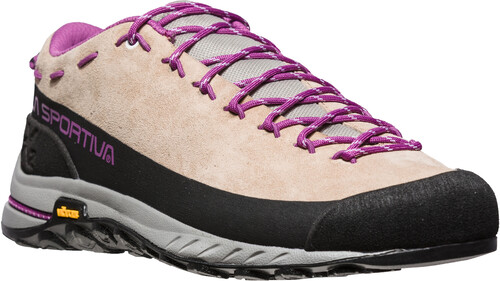La Sportiva TX2 Leather Shoes Women Sand/Purple 37 1/2 2018 Trekking- & Wanderschuhe